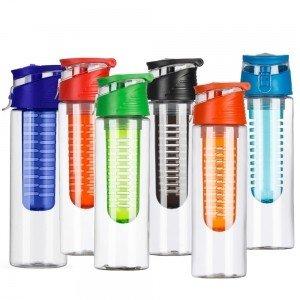 Squeeze Plástico 700ml com infusor - Modelo INF 13764B