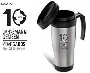 CANECA DE INOX (400ml) - INF 3889
